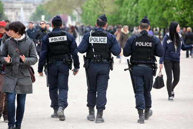 metiers risques police