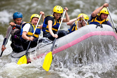 sport risque rafting